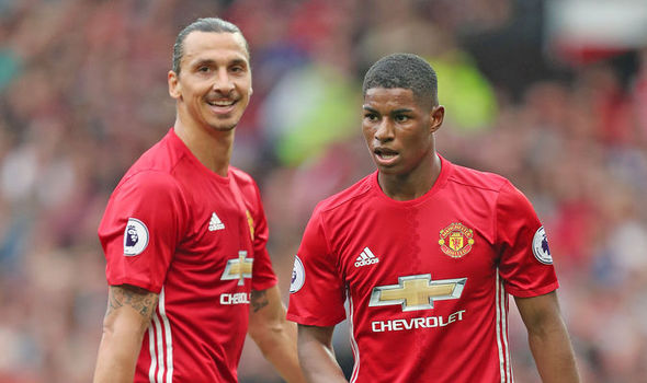 Marcus Rashford: This is what Zlatan Ibrahimovic is like... and what I can learn from him
