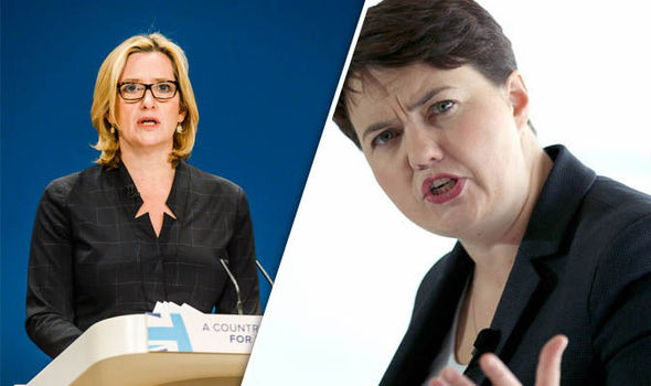 Tory backlash at Amber Rudd's migrant plan for firms to declare foreign workers