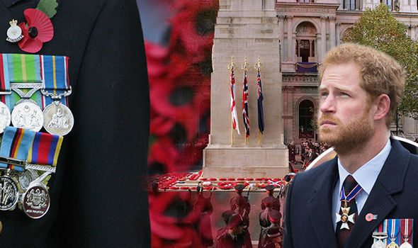 Left behind: Outrage as Veterans' relatives KEPT AWAY from Cenotaph on Remembrance Sunday