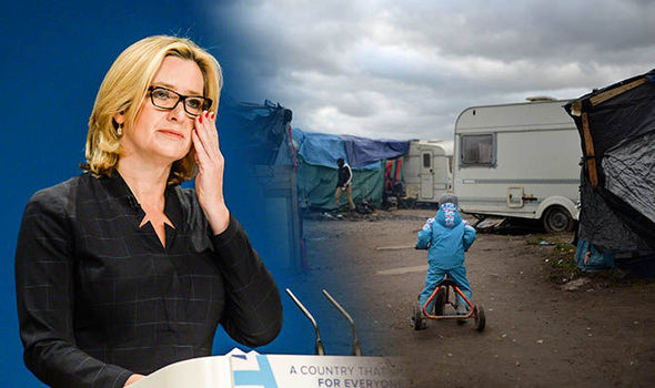 'It's our moral duty' Amber Rudd vows to protect the children of Calais