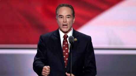 Republican congressman Chris Collins indicted for securities fraud