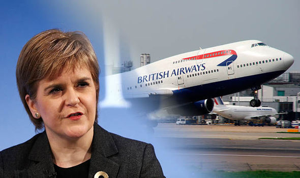 SNP backs plans for third runway at Heathrow as 'best deal for Scotland'