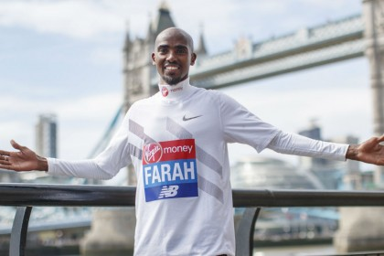 2018 London Marathon: Mo Farah targets podium and British record