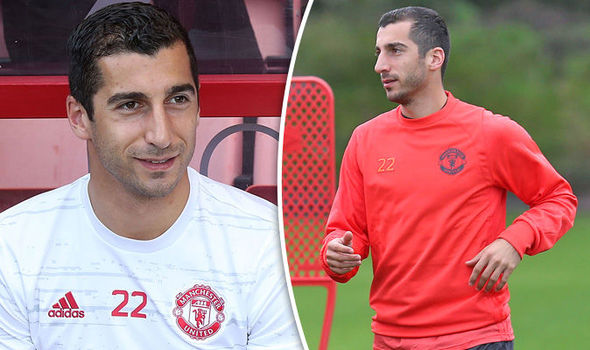 Why isn't Henrikh Mkhitaryan playing for Manchester United against Fenerbahce?
