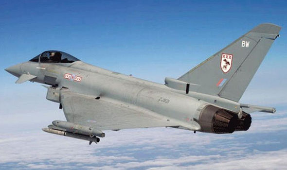 BREAKING: RAF jets scrambled to intercept Russian bombers close to British airspace