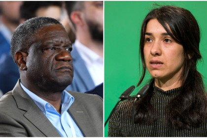 Nobel Peace Prize: anti-rape activists Nadia Murad and Denis Mukwege win 2018 award