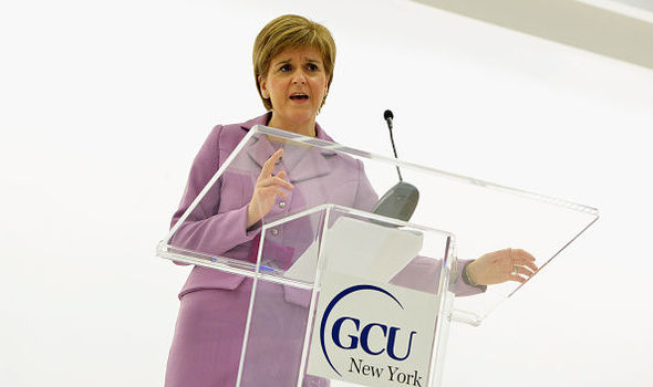 Make your mind up! Sturgeon slams Trump again just a week after writing to him