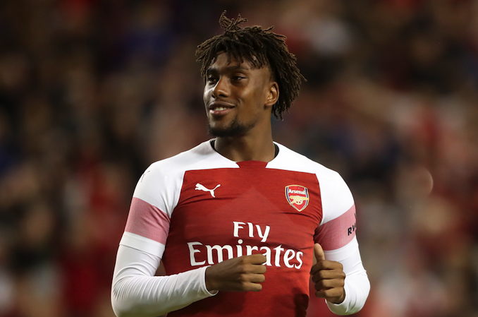Alex Iwobi signs new 'long-term' deal with Arsenal