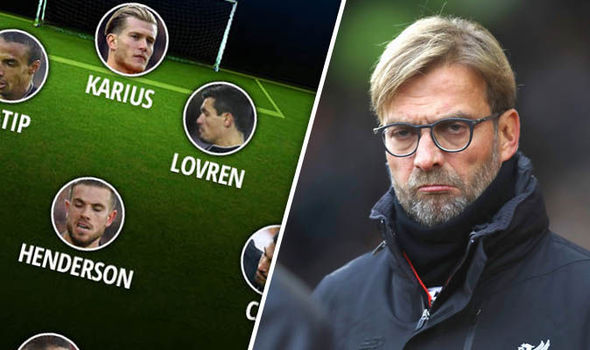Liverpool v Sunderland: Jurgen Klopp's predicted XI, with Adam Lallana set to miss out