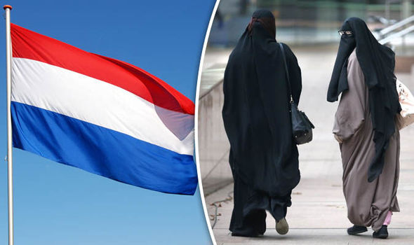 BURKA BAN: Dutch parliament vote in favour of banning face veils in public places