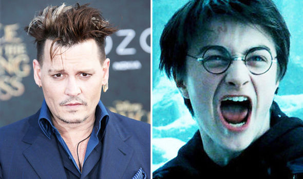 Harry Potter fans FURIOUS at Johnny Depp Fantastic Beasts 2 casting