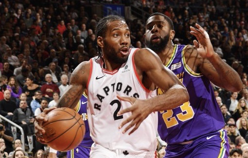 Kawhi's 45 fuel Raptors over Jazz, but Bucks still on top