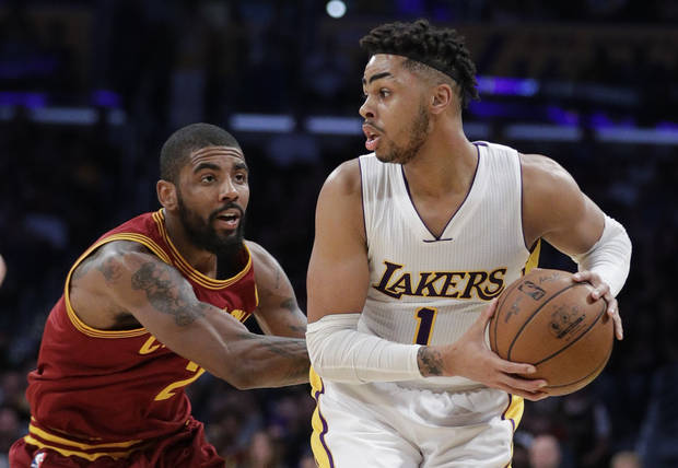 Kyrie gets 46, but Cavaliers barely beat Lakers, 125-120