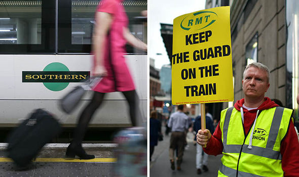 Southern Railway 'taking legal action' to stop series of strikes due to start TOMORROW