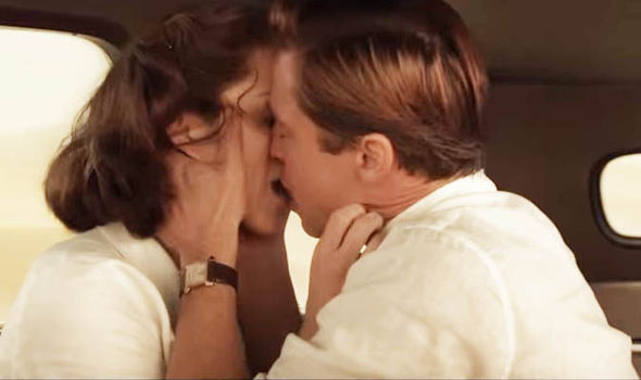 Brad Pitt kisses Marion Cotillard in new Allied trailer: 'I love you with all my heart'