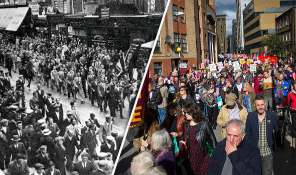 Hundreds attend anti-fascist march to mark 80th anniversary of The Battle of Cable Street