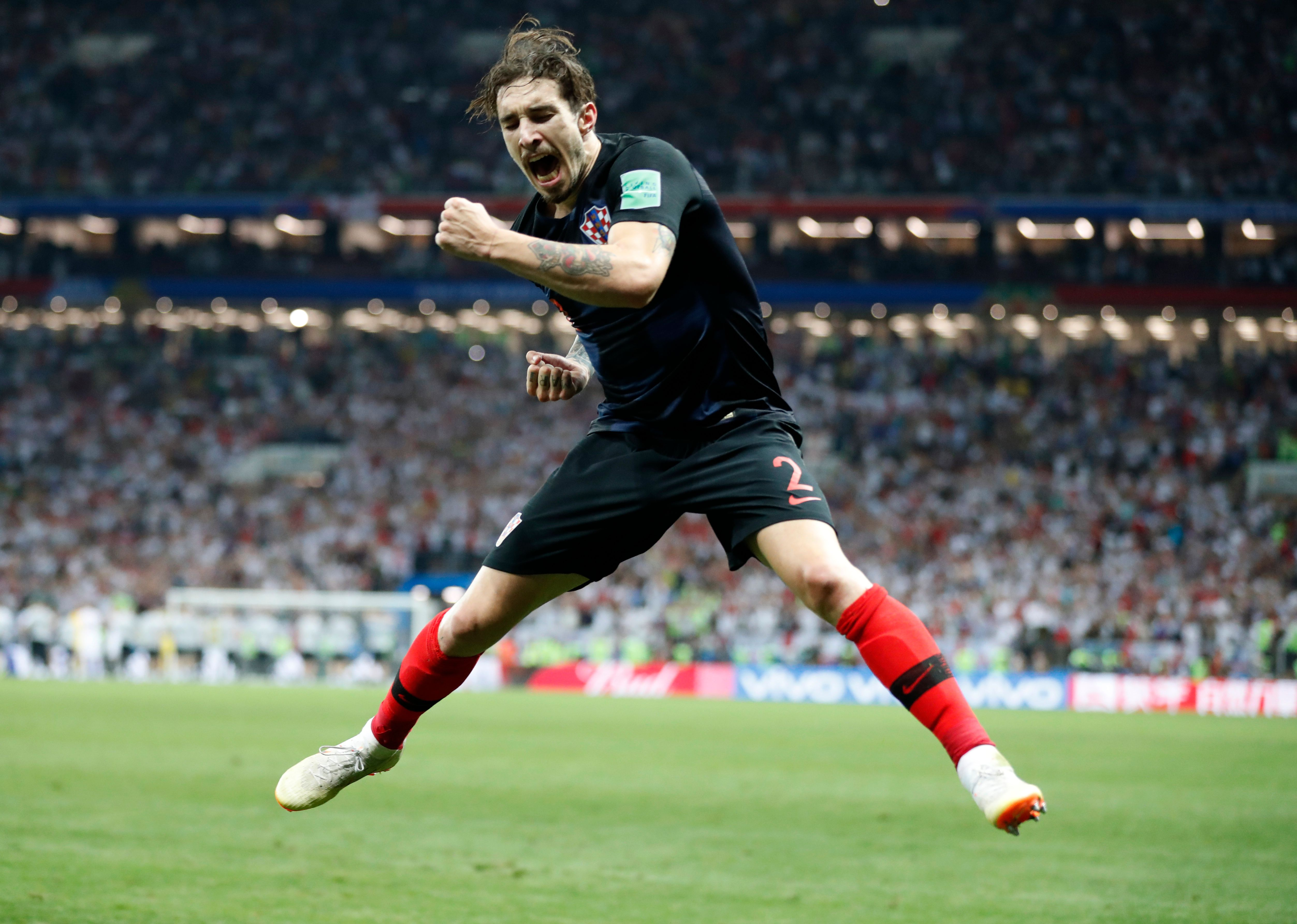 Paths to the final: France's was simple, Croatia's brutal