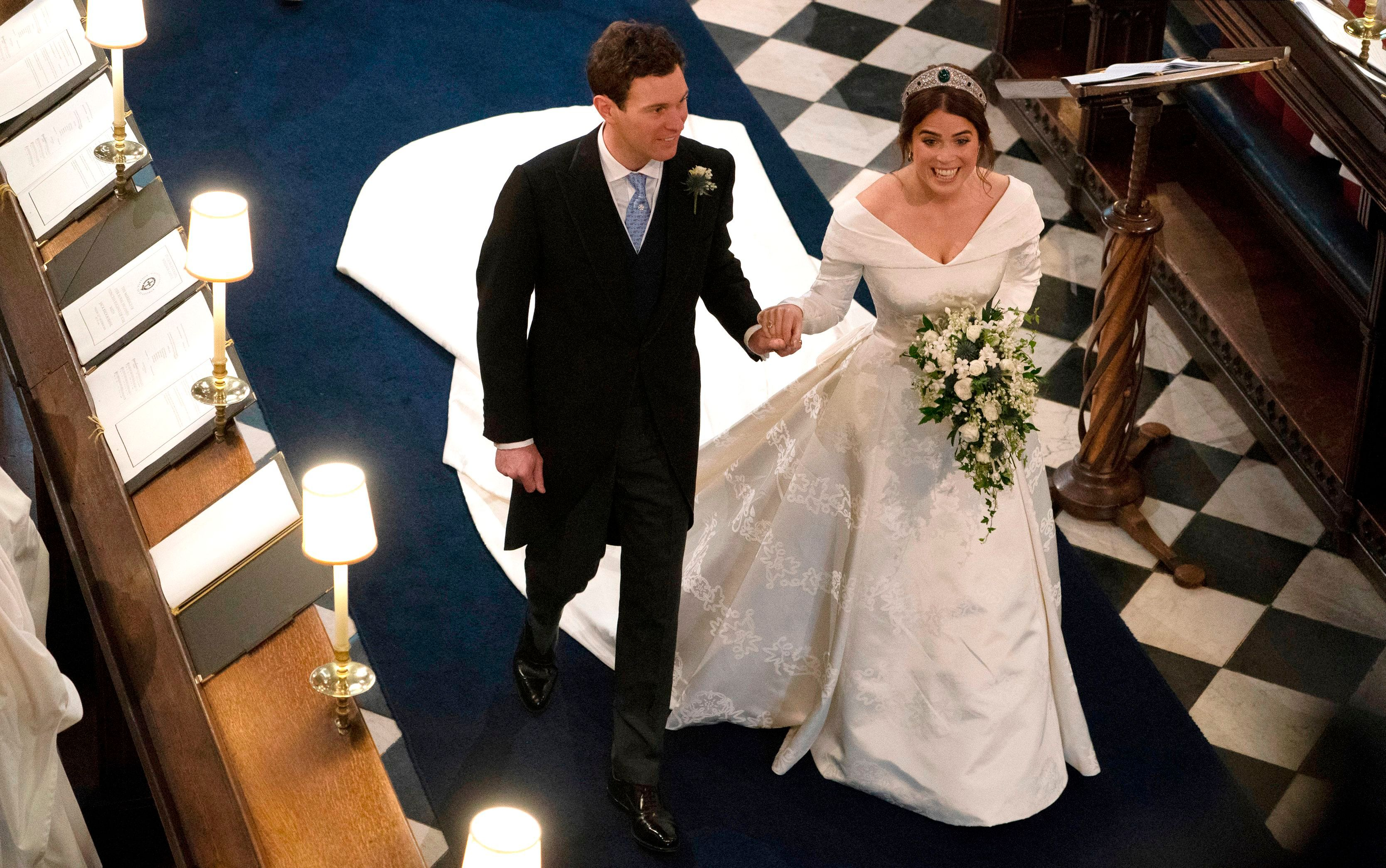 6 major moments from Princess Eugenie and Jack Brooksbanks' royal wedding day