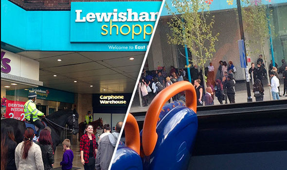 'Pools of blood' in London shopping centre after teenager knifed in broad daylight