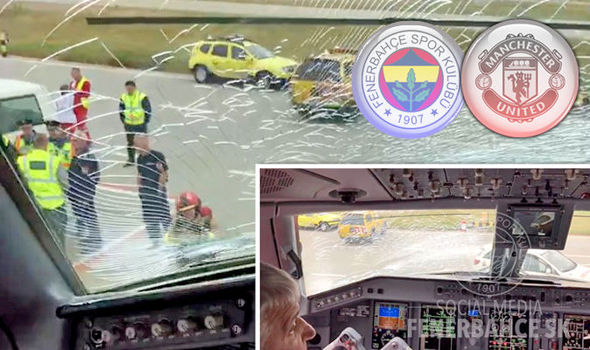 Fenerbahce plane forced to make emergency landing ahead of Manchester United clash