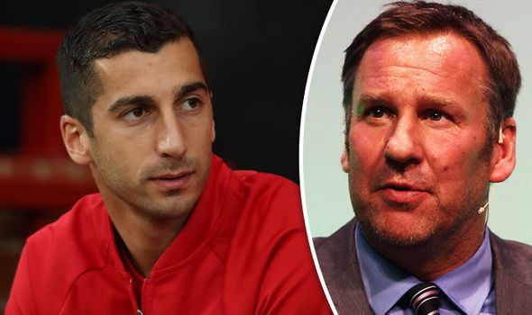 Paul Merson makes shock claim about Manchester United star Henrikh Mkhitaryan
