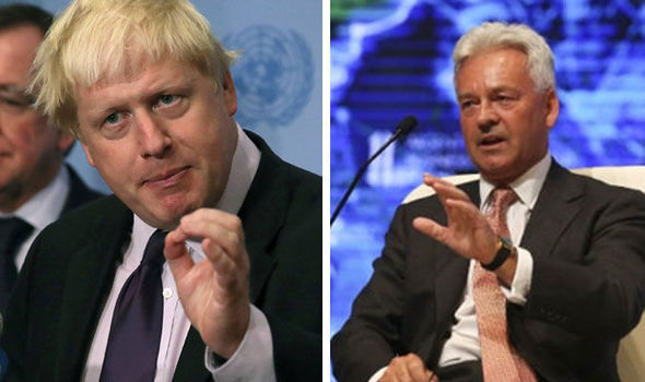 SHOCK BREXIT CLAIMS: Boris Johnson ONLY backed Leave so he could be PM, says Alan Duncan