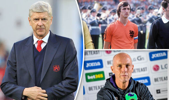 Arsene Wenger's influence over 20 years reminds me of Johan Cruyff, says Swansea boss