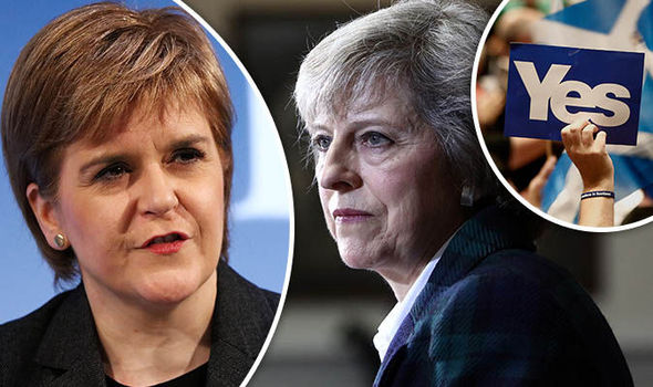 Nicola Sturgeon says it is 'inconceivable' Theresa May could try to block new independence