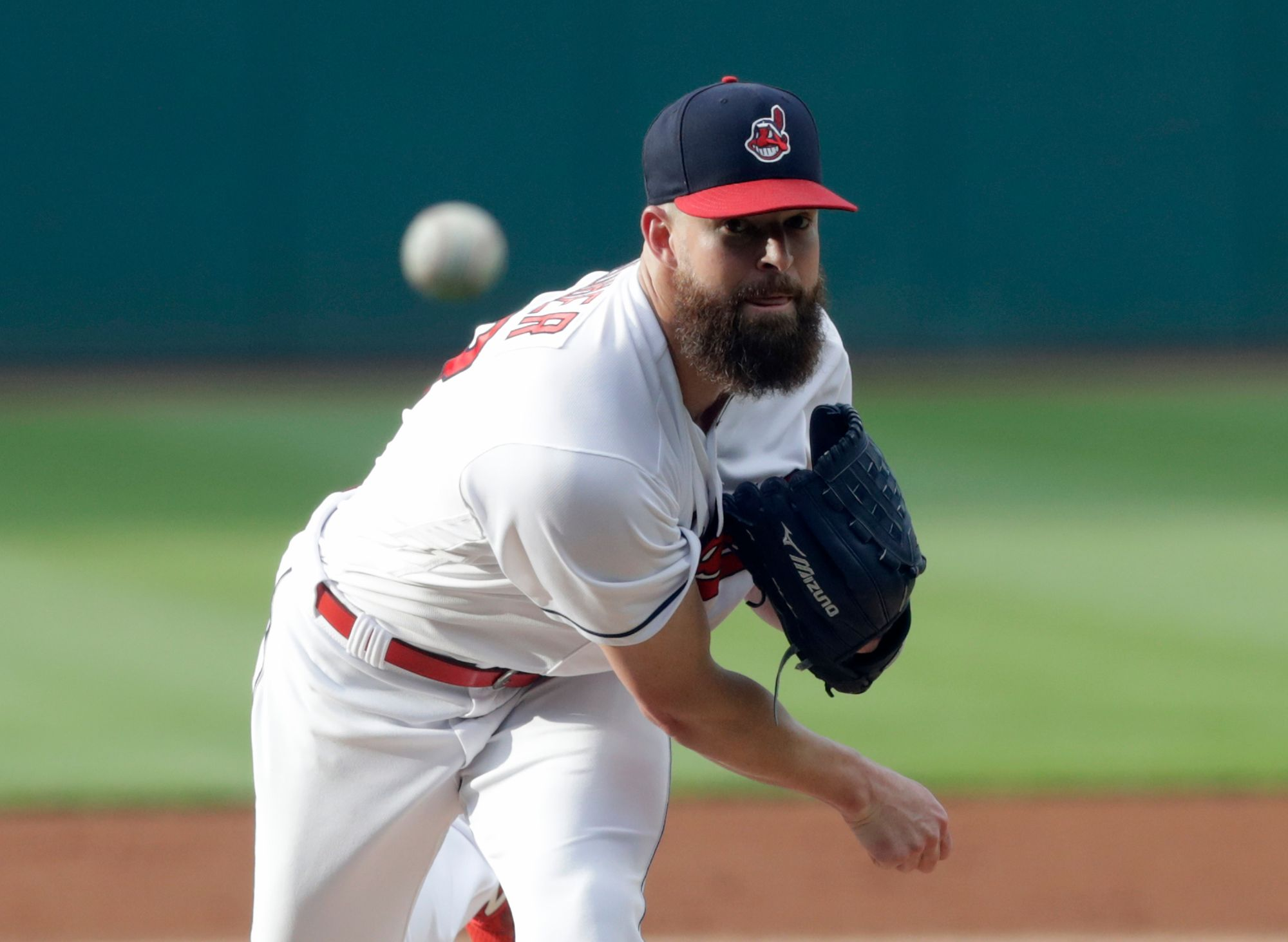 Indians' Kluber receives knee injection, will miss All-Star