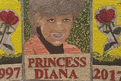 Chesterfield council defends 'horrendous' Diana tribute