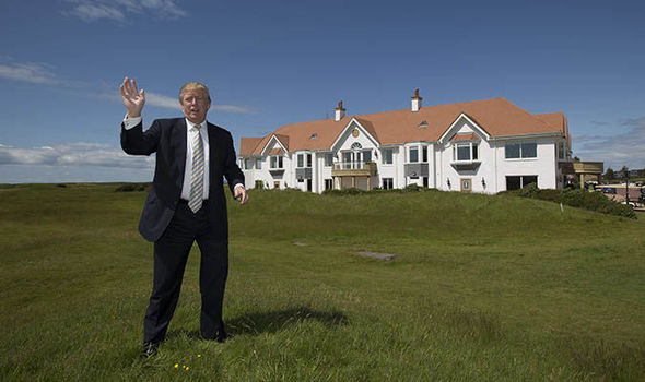 Trump's Scottish golf resorts performing below par