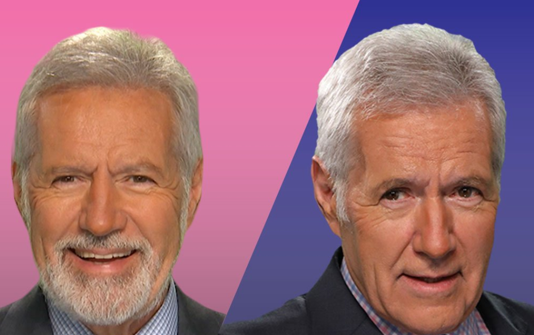 Alex Trebek's surprise 'Jeopardy!' beard throws fans into hairy debate