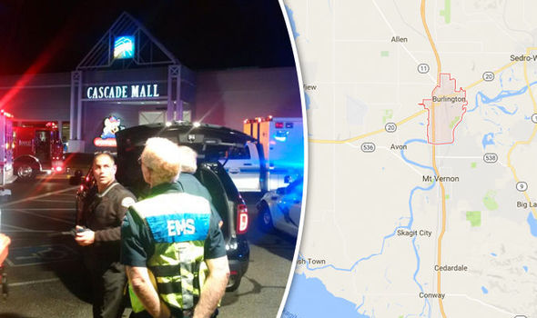 BREAKING: Four killed in shooting at Washington mall, the gunman is still on the loose