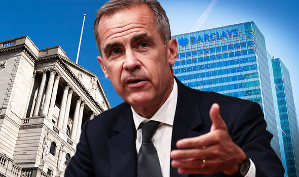 BANKING CRISIS: British banks 'accident waiting to happen and Carney's tests are USELESS'
