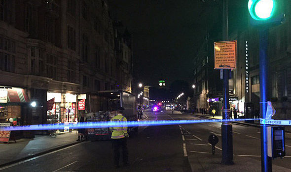 Whitehall evacuated after 'suspect package' found near Trafalgar Square