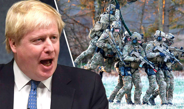 Boris Johnson gives green light to EU army - foreign secretary WON'T block EU integration