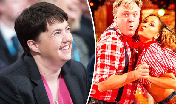 'Sign me up for next year!' Ruth Davidson has her sights set on Strictly Come Dancing