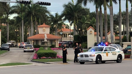Police say man who fired gun at Trump golf course was 'yelling' about president