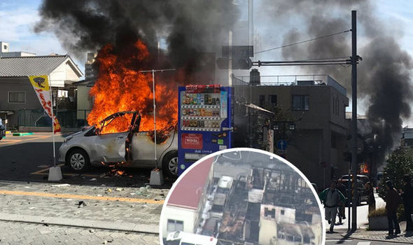 BREAKING: Japan double blasts kills at least one and injures three
