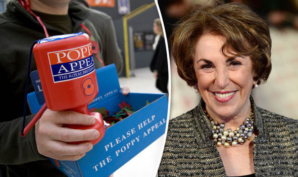 Edwina Currie tried to help poppy thief who stole war heroes' money