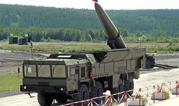 Fears grow as Russia moves nuclear-capable missiles into heart of EU