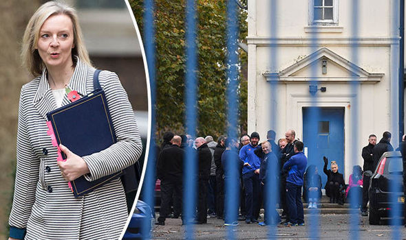 Liz Truss to resume talks with prison officers over service 'in meltdown'