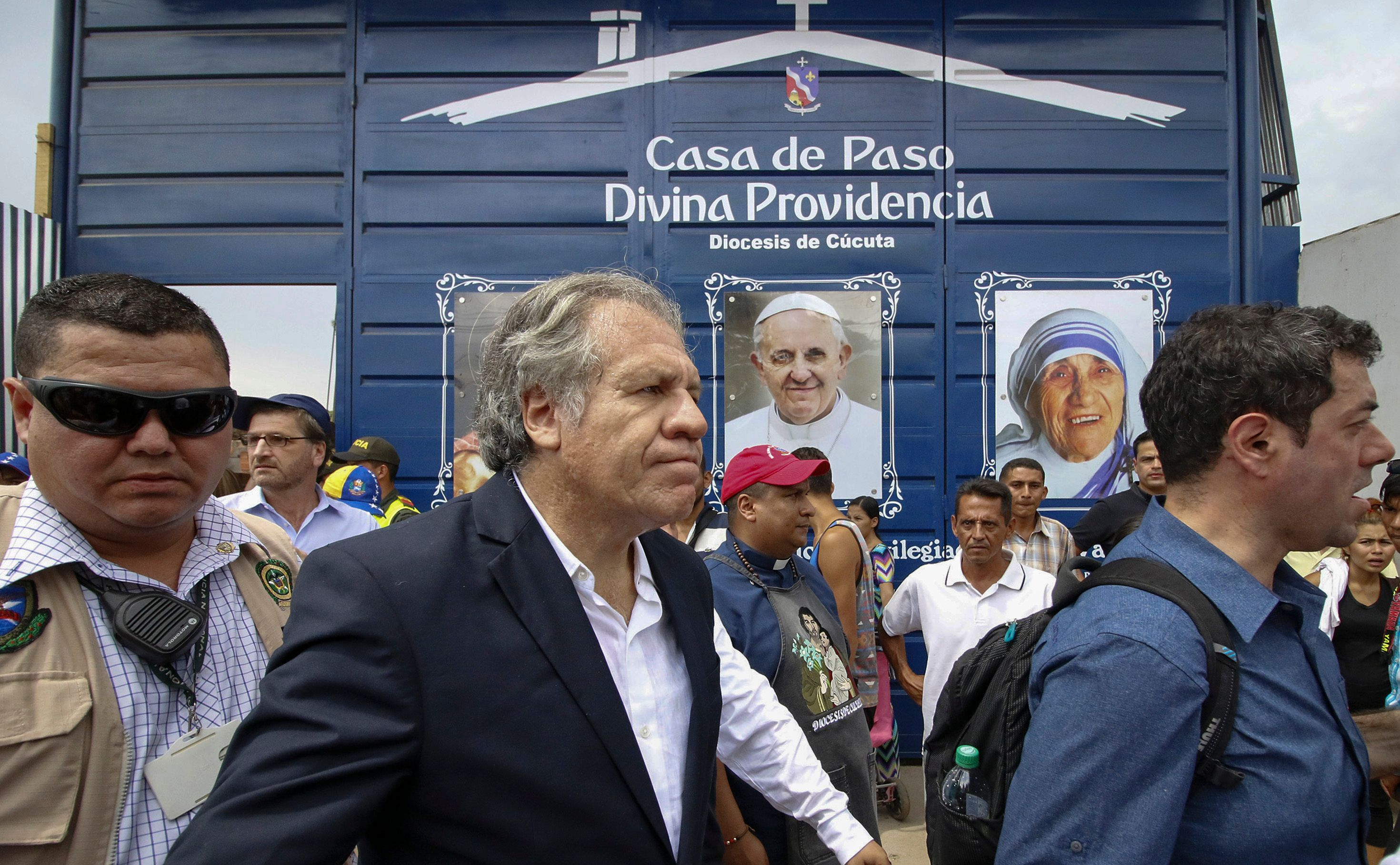 OAS chief threatens military force against Venezuela