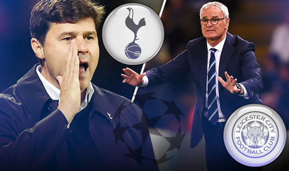 Champions League LIVE: Follow all the action from Tottenham and Leicester