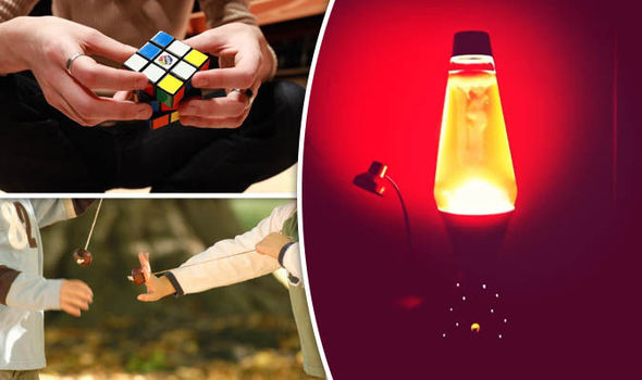 Lava lamps, Rubik's cubes and conkers: 100 greatest fads revealed