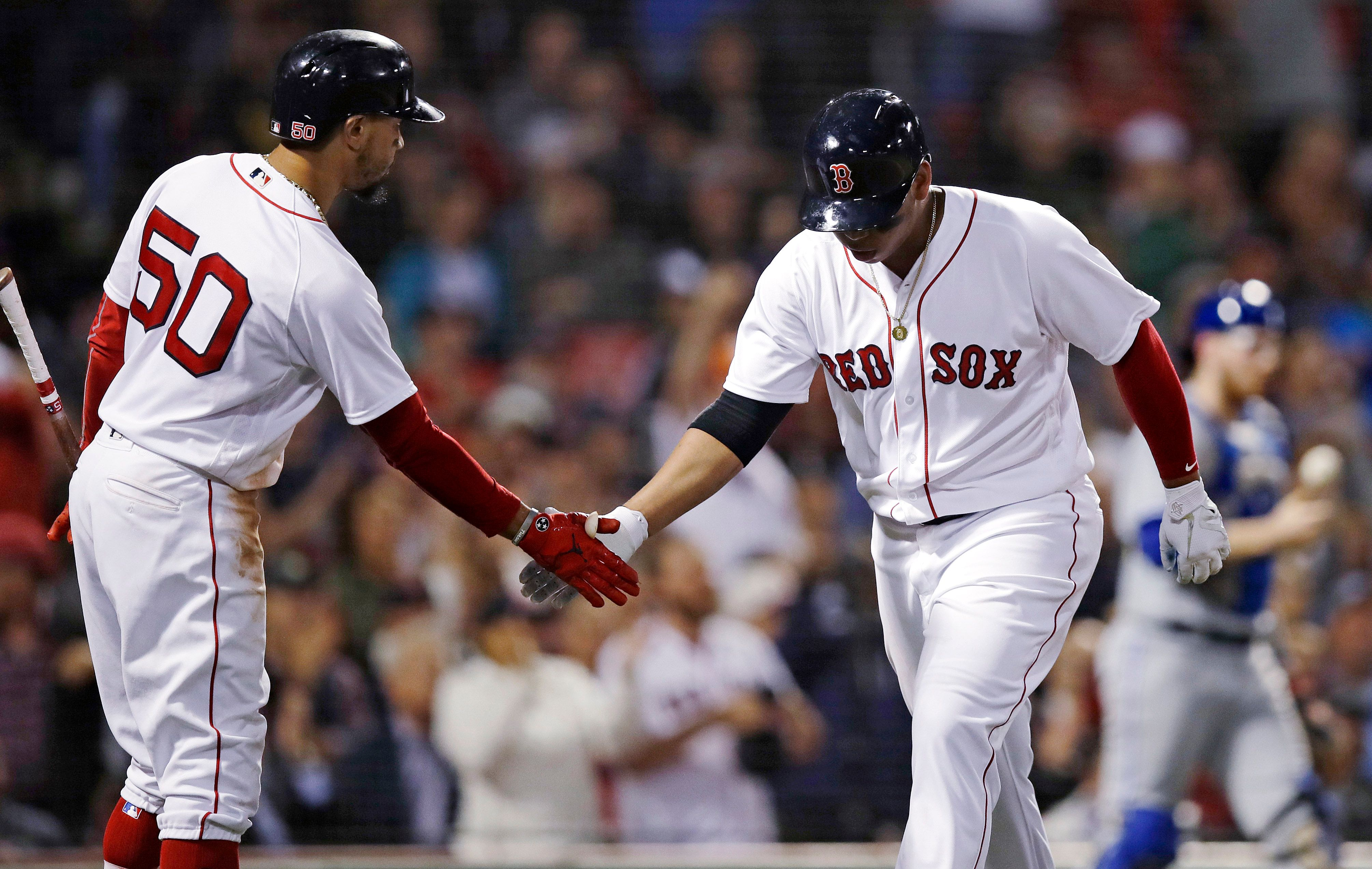 Red Sox reach 100 wins for 1st time since '46, beat Jays 1-0