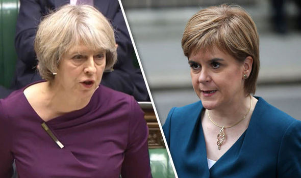 Theresa May and Nicola Sturgeon clash: PM warns First Minister against undermining Brexit