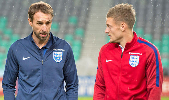 England manager Gareth Southgate backs Leicester striker Jamie Vardy to end goal drought
