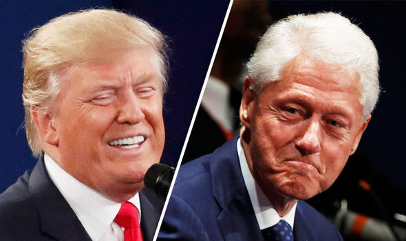 Donald Trump launches scathing attack on Bill Clinton's 'rape allegations' during debate