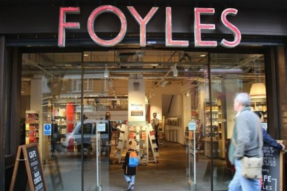 Waterstones buys Foyles in bid to fight back against Amazon